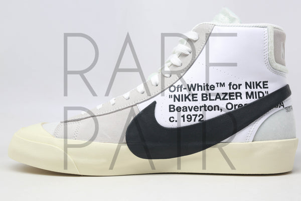 "The 10 : Nike Blazer Mid ""Off-White"" - Rare Pair"