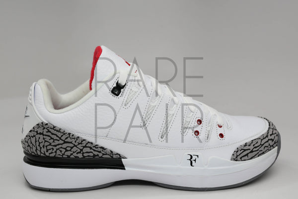 "Nike Zoom AJ3 Vapor ""White Cement"" - Rare Pair"