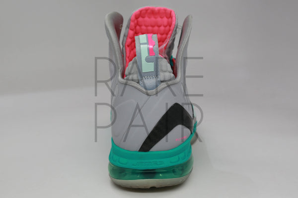 "Lebron 9 P.S. Elite ""Miami Vice/South Beach"" - Rare Pair"
