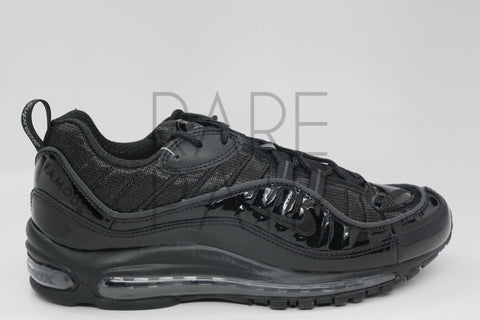"Air Max 98 / Supreme ""Supreme: Black"" - Rare Pair"