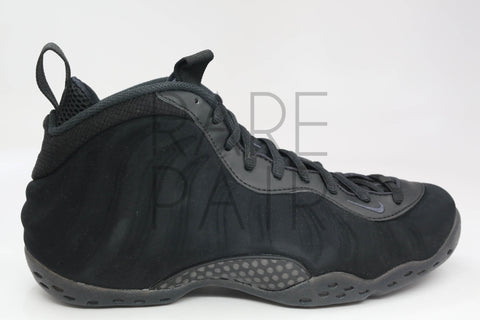 "Air Foamposite One PRM ""Black Suede"" - Rare Pair"