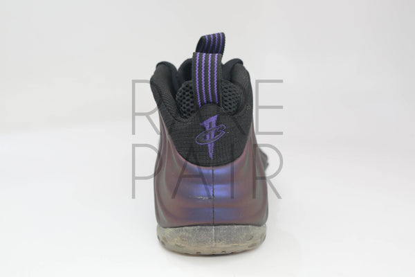"Air Foamposite One ""2009 Eggplant"" - Rare Pair"