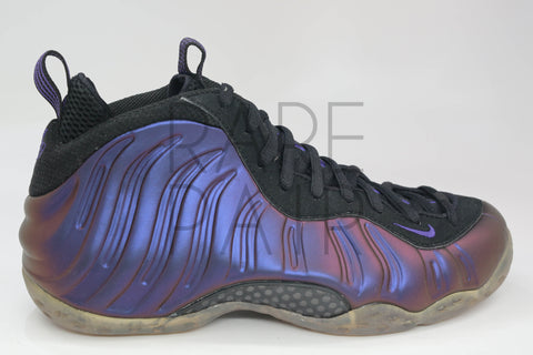"Air Foamposite One ""2010 Eggplant"" - Rare Pair"