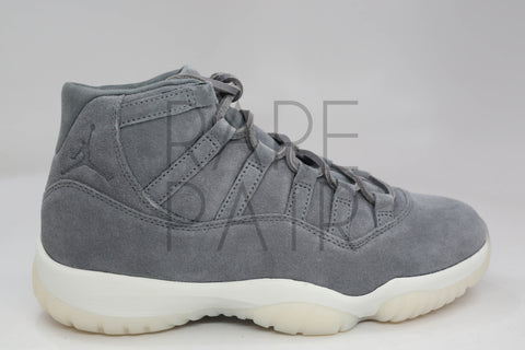 "Air Jordan 11 Retro Prem ""Grey Suede"" - Rare Pair"