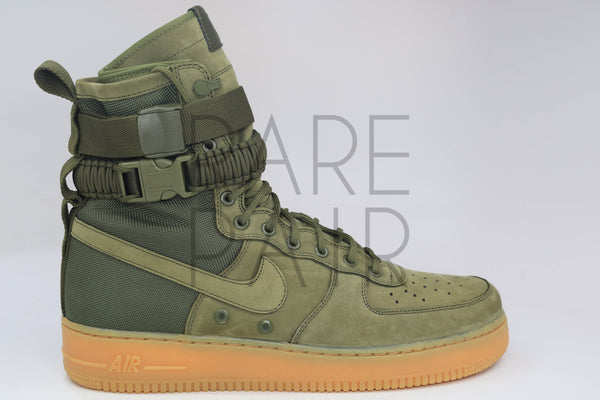 "SF AF1 ""Special Field: Olive"" - Rare Pair"