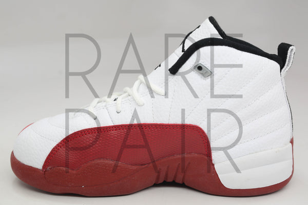 "Jordan 12 Retro (PS) ""2009 Cherry"" - Rare Pair"