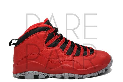 "Air Jordan 10 Retro 30th ""Bulls Over Broadway"" - Rare Pair"