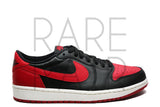 "Air Jordan 1 Retro Low OG ""2015 Bred"" - Rare Pair"