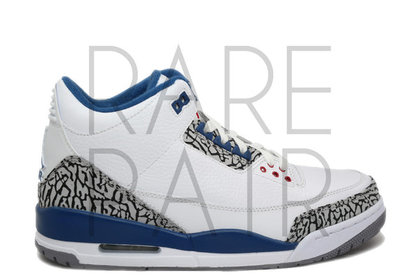 "Air Jordan 3 Retro ""2011 True Blue"""