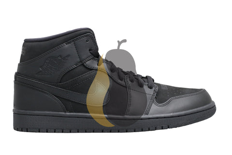 "Air Jordan 1 Mid ""166 Flatbush: Black Laser"""