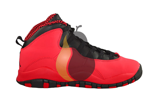 "Girls Air Jordan 10 Retro (GS) ""Fusion Red"" - Rare Pair"