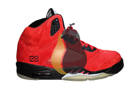 "Air Jordan 5 Retro ""Raging Bull: Toro"" - Rare Pair"
