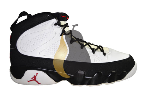"Air Jordan 9 Retro ""White/Black/Red 2002"""