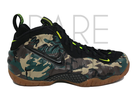 "Air Foamposite Pro PRM LE ""Camo"" - Rare Pair"