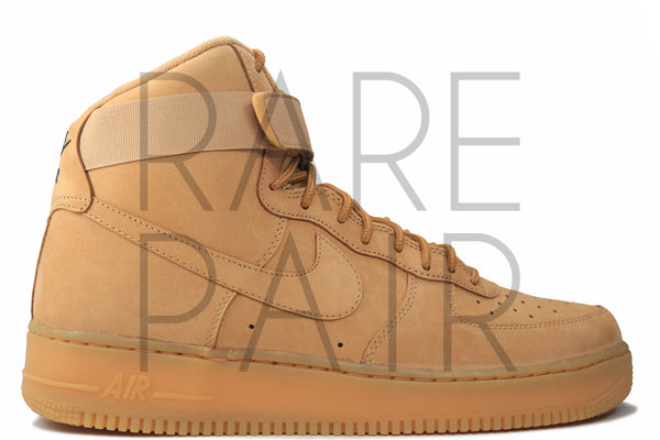 "Air Force 1 High '07 LV8 ""2016 Flax"" - Rare Pair"