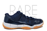 "Air Jordan 11 Retro Low ""Navy/Gum"" - Rare Pair"