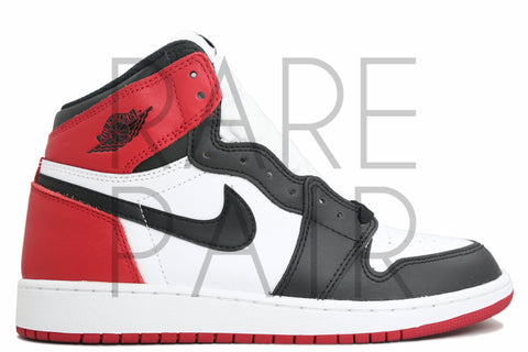 "Air Jordan 1 Retro High OG BG ""2016 Black Toe"" - Rare Pair"
