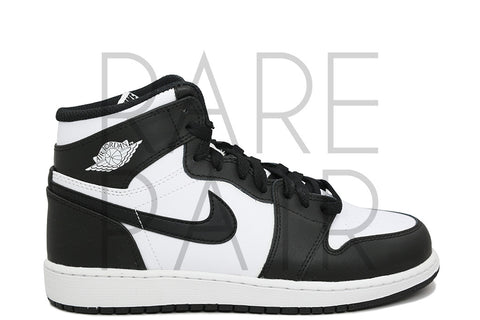 "Air Jordan 1 Retro High OG BG ""2014 Black/White"" - Rare Pair"