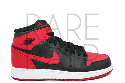 "Air Jordan 1 Retro High OG BG ""2013 Bred"" - Rare Pair"