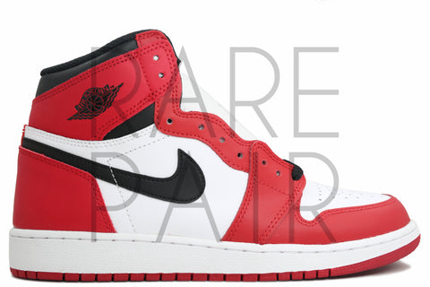 "Air Jordan 1 Retro High OG BG ""2015 Chicago"" - Rare Pair"