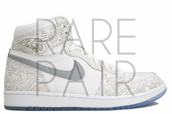 "Air Jordan 1 Retro ""Laser 30th Anniversary"" - Rare Pair"