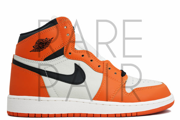 "Air Jordan 1 Retro High OG BG ""Shattered Backboard : Reverse / Away"" - Rare Pair"
