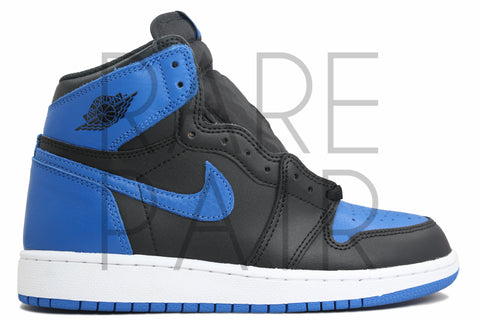 "Air Jordan 1 Retro High OG BG ""2017 Royal"" - Rare Pair"