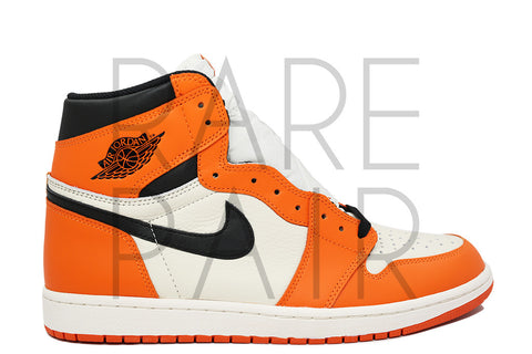 "Air Jordan 1 Retro High OG ""Shattered Backboard: Reverse / Away"" - Rare Pair"