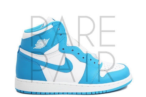 "Air Jordan 1 Retro High OG BG ""2015 UNC"" - Rare Pair"