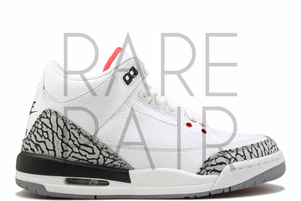 "Air Jordan 3 Retro '88 ""White Cement"" - Rare Pair"