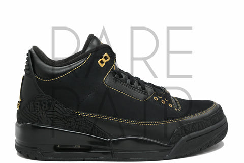 "Air Jordan 3 BHM ""Black History Month"" - Rare Pair"