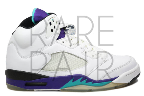 "Air Jordan 5 Retro LS ""2006 Grape"" - Rare Pair"