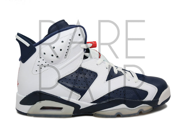 "Air Jordan 6 Retro ""2012 Olympic"" - Rare Pair"