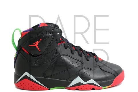 "Air Jordan 7 Retro BG ""Marvin The Martian"" - Rare Pair"