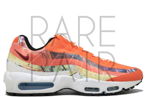 "Air Max 95 / DW ""Dave White"" - Rare Pair"