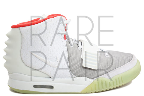 "Nike Air Yeezy 2 NRG ""Platinum"" - Rare Pair"