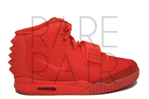 "Nike Air Yeezy 2 NRG ""Red October"" - Rare Pair"