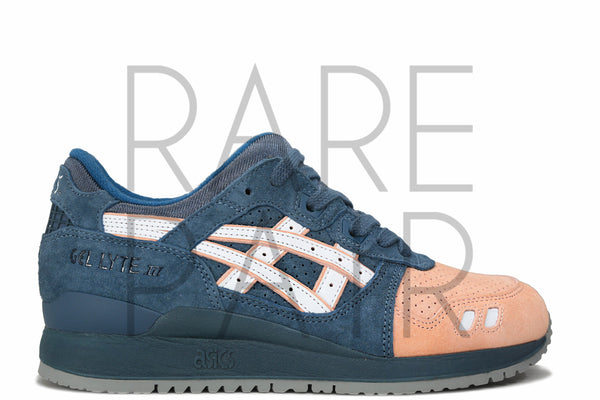 "Gel Lyte III MIJ ""Salmon Toe 2.0"" - Rare Pair"