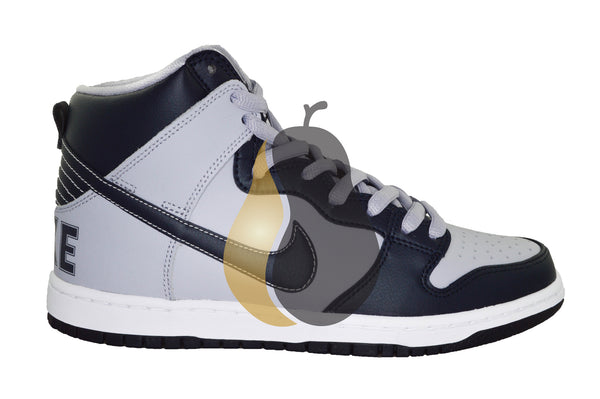 "Nike Dunk High  SB ""Rivalry Grey/Navy"" - Rare Pair"