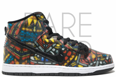 "Dunk Hi Pro SB ""Stained Glass"" - Rare Pair"