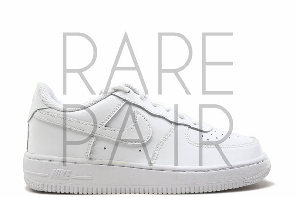 "Force 1 (PS) ""White"" - Rare Pair"