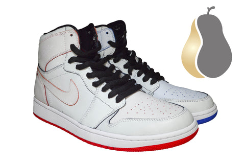 "Air Jordan 1 SB QS ""Lance Mountain White"" - Rare Pair"