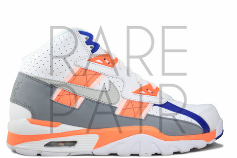 "Air Trainer SC (GS) ""Bo Jackson: Neutral Grey/Orange"" - Rare Pair"