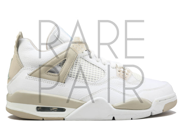 "Wmns Air Jordan 4 Retro ""Sand"" - Rare Pair"