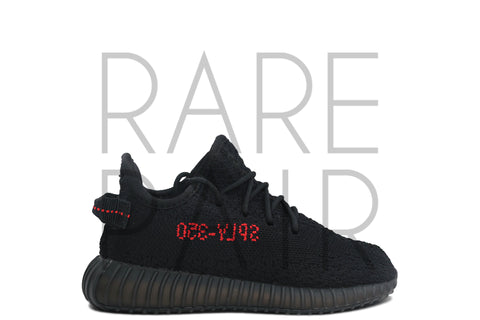 "Yeezy Boost 350 V2 Infant ""Bred"" - Rare Pair"