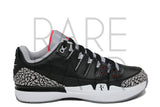 "Nike Zoom Vapor AJ3 ""Black Cement"" - Rare Pair"