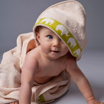 Organic Cotton Hooded Baby Bath Towel