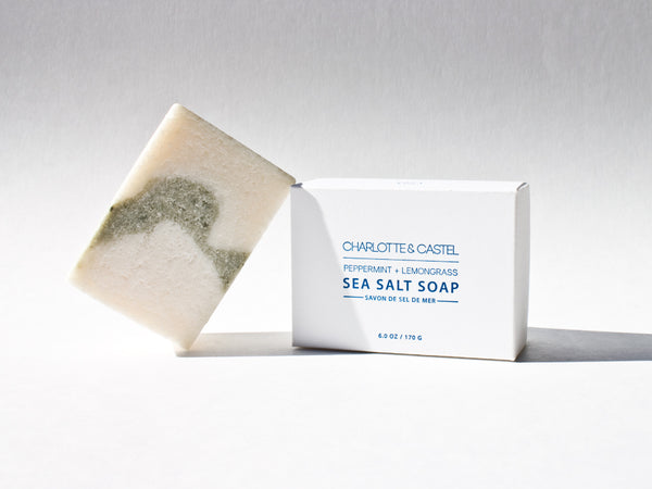 Sea Salt Soap | Peppermint + Lemongrass