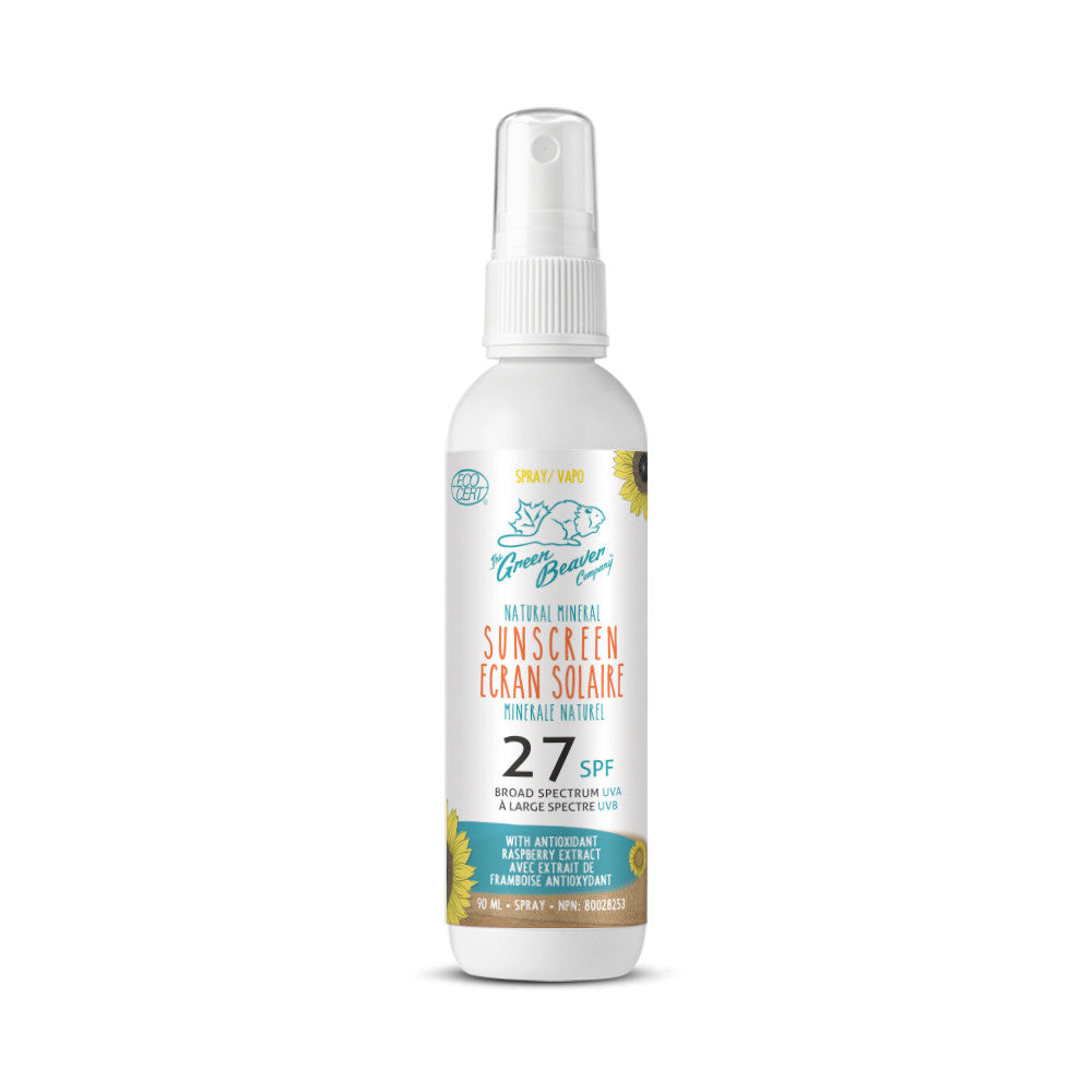 Adult Natural Mineral Sunscreen Spray | SPF 27