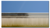 "Gutter-Brite Removes""Tiger Striping"" Black Streaks and other hard to remove stains on Aluminium gutters"